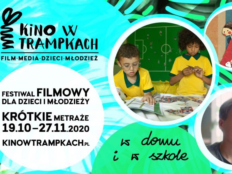 """""""Kino w Trampkach w domu i w szkole"""" tym razem online"""