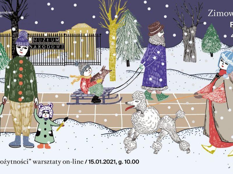Spędź ferie z Muzeum Narodowym w Warszawie!